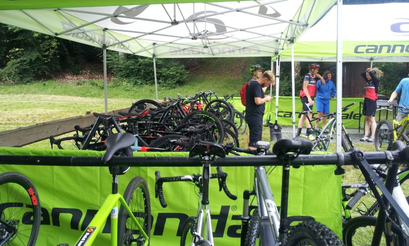 CANNONDALE Testbike Days am 20. und 21.8.2016