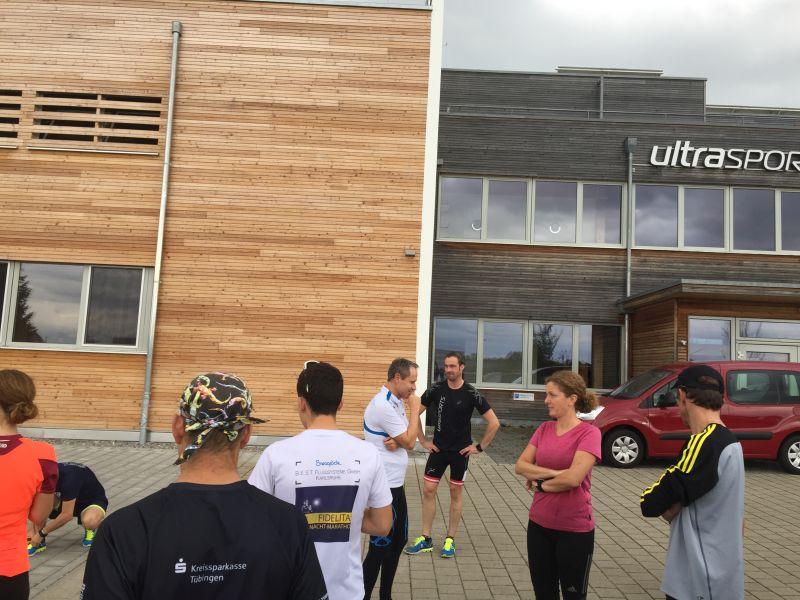 6. Running Exkursion by Globetrotter: Zu Besuch bei ultrasports