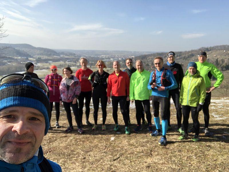 1. Running Exkursion 2018 in Leonberg